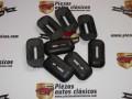 Kit 8 gomas salida soportes parachoques Renault 8