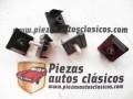 Kit grapas para rejilla de aluminio Renault 4 2ª fase