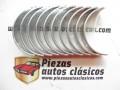 Juego de casquillos de bancada STD Renault 5, Alpine turbo, TS, TX, 4, 6, 12 TS....