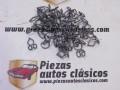 Kit de 50 grapas 13mm. tapizado/moldura Renault 4, 5, 6, 7, 8, 12....