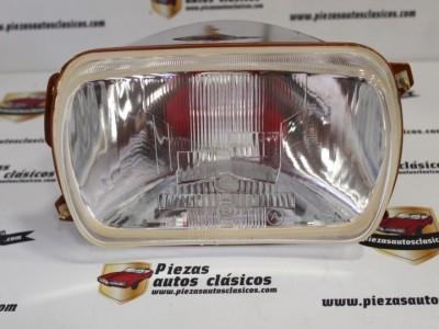 Optica de faro delantero Renault 12 y 16 Luz Convencional Ref 0870030600 / 7701018877