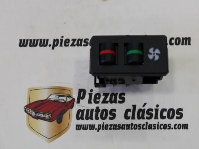 Interruptor de calefacción Seat Ritmo 3 terminales (gris oscuro azulado)