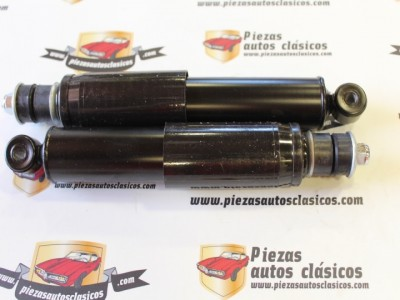Par amortiguadores delanteros Renault 8, casquillo 10mm