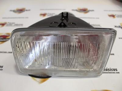 Optica de Faro Delantero izquierdo luz convencional  Ford Fiesta  (del 84 al 89)  REF 029378