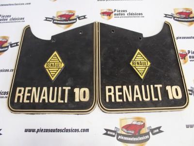 Juego De Faldetas Guardabarros Renault 10