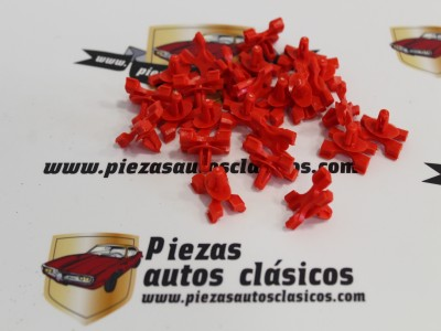 Kit De 25 Grapas Moldura Lateral Seat 127 y 131 Supermirafiori