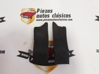 Pareja de topes de capot trasero Renault 8 Ref:0555576300/0555576400