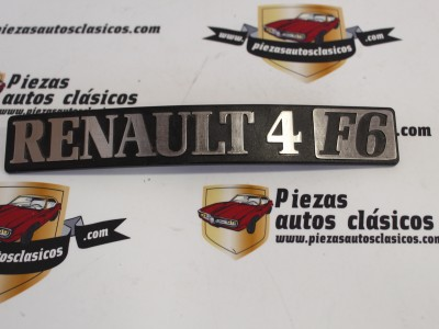 Anagrama Trasero Renault 4 F6