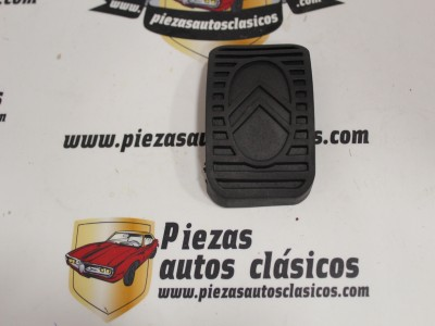Goma pedal freno/embrague Citroen 2CV, Dyane, Ami, DS, Visa, C15 (66x46mm.)