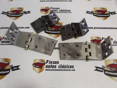 Kit completo bisagras de puerta Renault Alpine A110