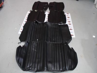 Juego fundas asientos negras Renault 12 Super