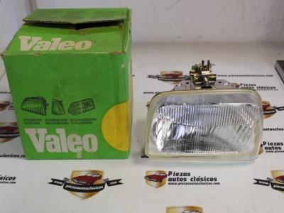 Optica De Faro Delantero Derecho H4 Ford Fiesta Hasta el 84 Ref: 029440 / 029481