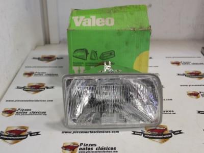 Optica De Faro H4 Delantero Derecho Ford Fiesta Desde el 84 Ref: Valeo 029479
