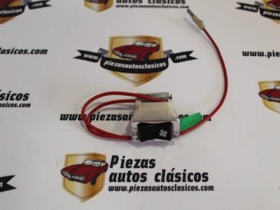 Interruptor calefacción con cableado Renault 4 tl ref origen 7701027377