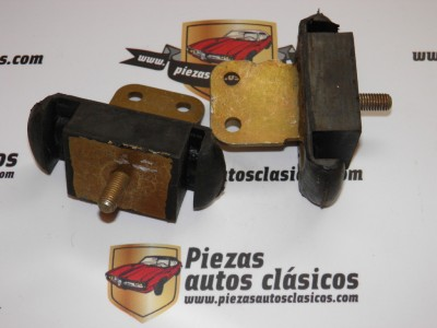 Pareja de Silemblock de motor Renault 8 y 10