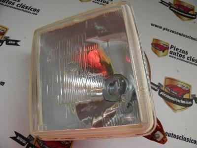 Optica faro delantero Izquierdo H1 Renault 12 TS  REF:Valeo061712