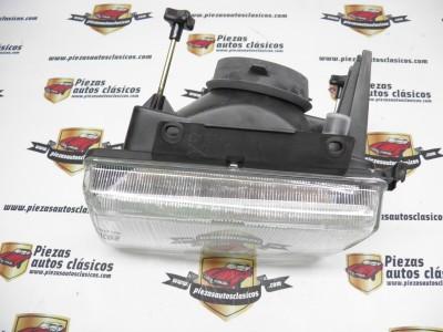 Optica de faro Delantero Derecho Opel Corsa Luz Convencional del 90 al 93