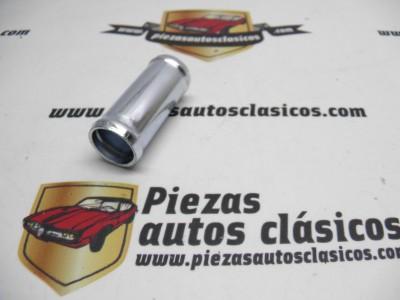 Tubo de unión manguitos de calefacción 18mm. Renault 4,5,6,7,12...