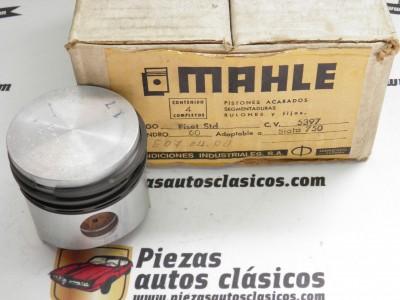Equipo de Motor Seat-Fiat Siata 750 60 diámetro