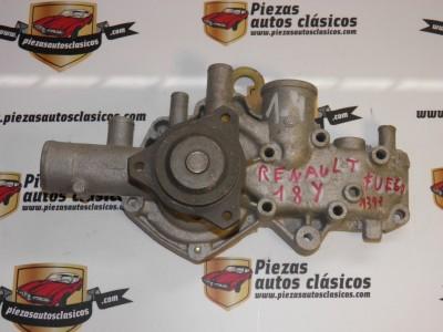 Bomba de agua Renault 18 y Fuego motor 1.4