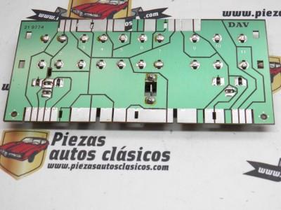 Base Circuito Impreso Renault 9 y 11 REF 7701998034