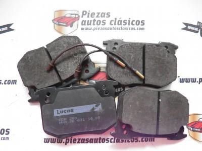 Jgo. Pastillas de freno Peugeot 505 y 604 / Renault 5 Turbo 160 CV Ref: GDB 280
