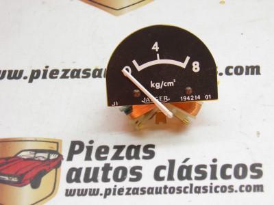 Manómetro 12V Nissan Patrol Gal 4 cilindros REF JAEGER1129