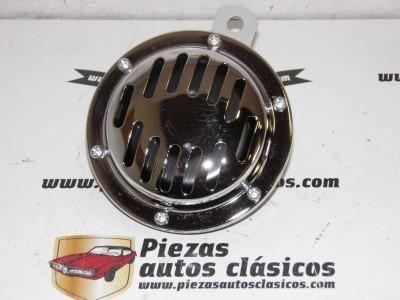 Claxon 6V cromado