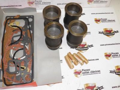 Equipo Motor Completo + Jgo. Juntas Tarabusi 61,40 mm Renault 4 852cc. Motor 813 Ref:06166.5