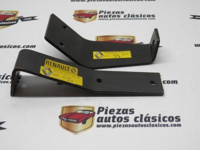 Par de soportes delanteros exterior e interior Renault 7 Ref: 7702041808 / 7700554055