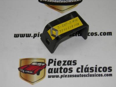Soporte parachoques Trasero derecho exterior Renault 12 ref origen 7700518318
