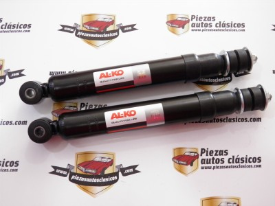 Par amortiguadores delanteros ALKO  Renault 4,5,6,7, casquillo 32mm, a partir del 09/68