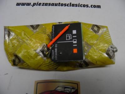 Indicador nivel de combustible Renault 9 TSE ref origen 7701025958