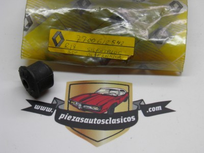 Silemblock soporte alternador Renault 18 ref origen 7700612542