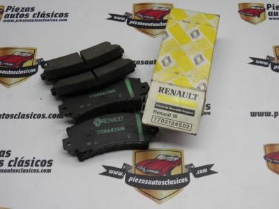 Juego de pastillas de freno Renault 18 ref origen 7702124502