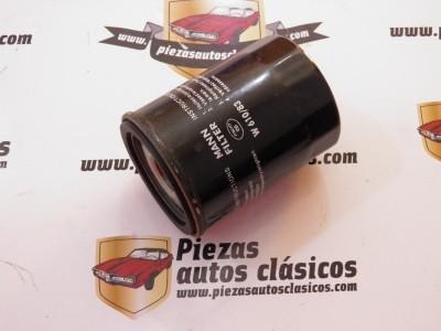 Filtro de aceite W610/83 Nissan 100, Micra, Note, Primera, Serena y Sunny (gasolina)
