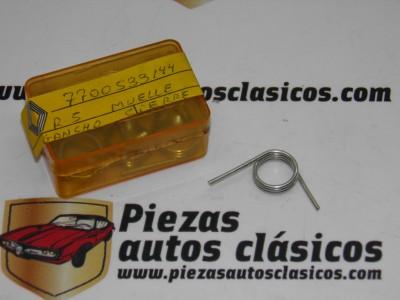 Muelle gancho de cierre Renault 5 ref origen 7700533144