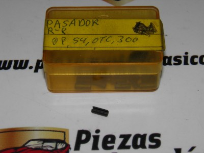 Pasador cerradura Renault 8 y 10 ref origen 0854076300