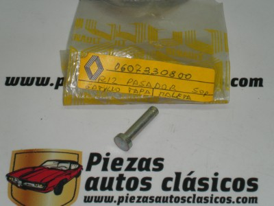 Pasador soporte gatillo tapa maleta Renault 12 ref origen 0607330800