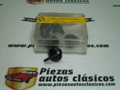 Botón seguro cerradura Renault 8 y 10 ref origen 0855565000