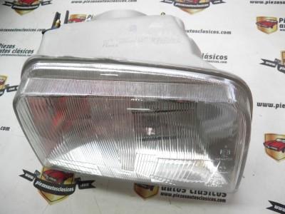 Optica de faro delantero derecho Renault Express H4 a partir del 91 Regulable desde el cuadro Ref: 084634