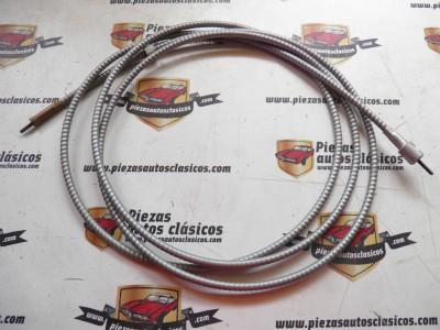 Cable Cuentakilómetros Renault 8, 10, Dauphine, 4/4 y Simca 1000