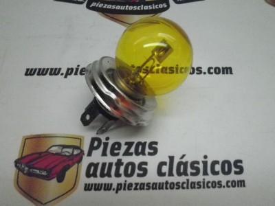 Bombilla casquillo europeo amarilla 40/45w 12V