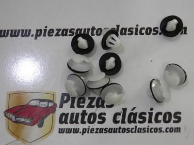 Kit de 10 grapas panel de puerta  Renault  Citroen  Peugeot  Ref: 7703077111