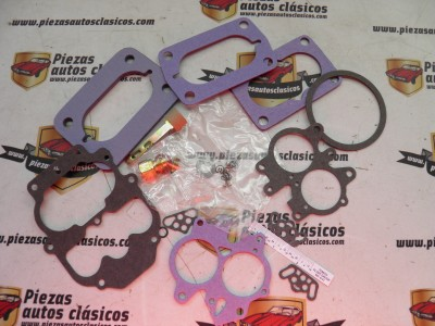 Kit reparacion carburador Carter 2 cuerpos Dodge