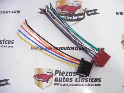 Juego de cables conexión ISO para radio