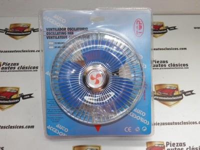 Ventilador giratorio 12V para mechero