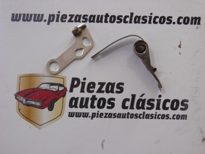 Juego de platinos para delco Magneti - Marelli Citroen CX, Seat Fura, Fiat 127, 128... Ref: 9929188