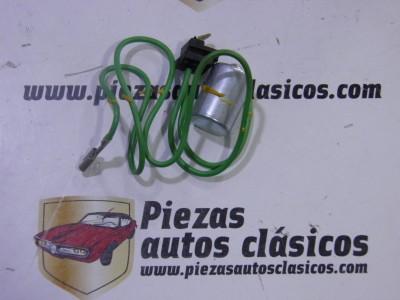 Condensador para delco Bosch Renault 4, 5, 6, 7, 10 y 12 (8 del 66 al 78) Talbot (del 67 al 76) Ref:7702037712
