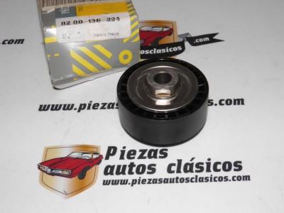 Polea inversión / Guía, correa auxiliar servicios INA Renault Clio I/II, Kangoo I, TwingoI Ref: 8200136224